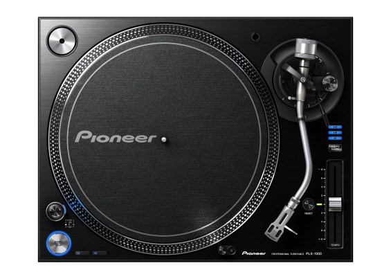 Pioneer releases the new PLX-1000 Professional Turntable.